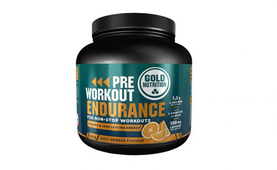Pre-Workout Endurance Portocale 300 G GoldNutrition