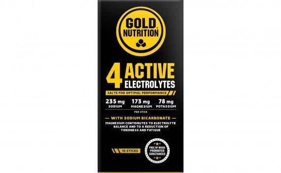 Goldnutrition 4 Active Electrolytes 10 Plicuri